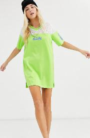 T Shirt Dress With Back Print