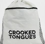 Unisex Logo Drawstring Bag