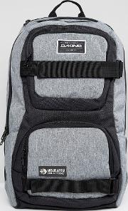 duel backpack with skateboard straps 26l