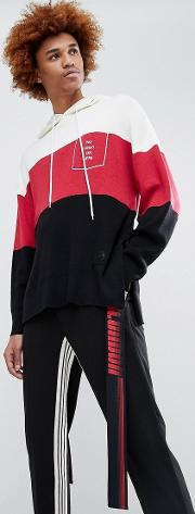 d antidote overszied hoodie with taping