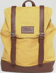 Buckle Backpack  Mustard
