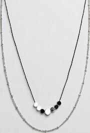 Designb Chain & Cord Necklaces  2 Pack Exclusive To Asos