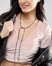 Fine Choker & Tie Up Layering Necklaces