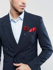 sherry pocket square and pin