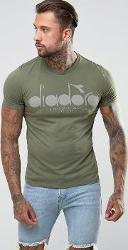 T Shirt With Large Logo