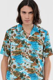 Blossvale Shirt With Island Print