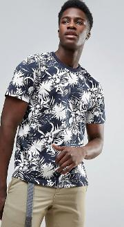 t shirt with all over floral print