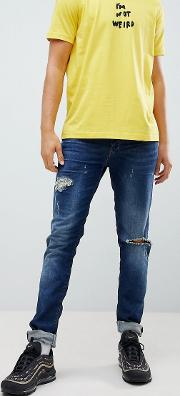 tepphar distressed skinny jeans 084tx