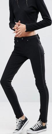 ditto's maxine side zip skinny jeans