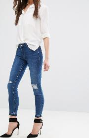 Margaux Skinny Jean With Ripped Knees