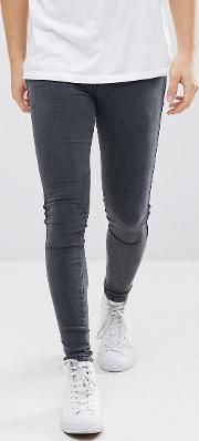 Dixy Extreme Muscle Jeans Grey Lush Shadow