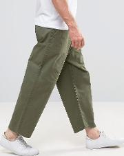 melvin wide fit jeans utility green