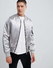 d struct satin bomber