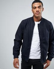 d struct wool mix bomber