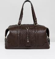 mandleson holdall in brown