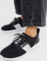 Mesh Runner Trainer With Silver Panel
