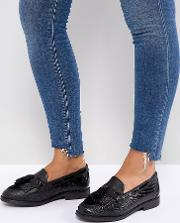 Dune London Wide Fit Goodness Flat Shoes