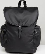 austin backpack  black 18l