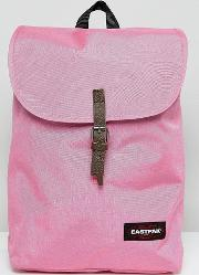 ciera foldover backpack in bubblegum pink