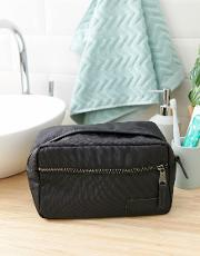 yap single constructed black wash bag