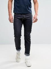 80 Slim Tapered Jeans Unwashed