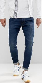 ed 85 slim tapered drop crotch jeans solstice wash