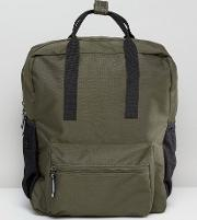torpedo backpack in khaki