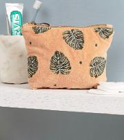 Mini Jungle Leaf Copper Pouch
