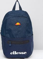 Backpack With Logo In Navy