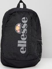 Backpack With Reflective Logo