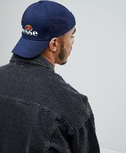 Snapback Cap With Logo In Navy