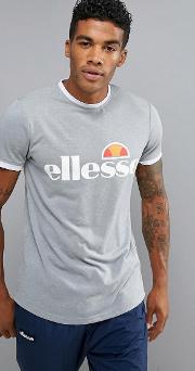 Sport  Shirt With Large Logo In Grey