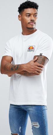 T Shirt With Small Logo In White