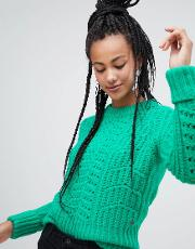 Chunky Textured Jumper