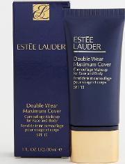 Double Wear Maximum Cover Camouflage Makeup For Face & Body Spf 15