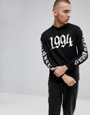 1994 long sleeve t shirt with back print