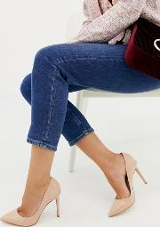 chloe pointed court shoes