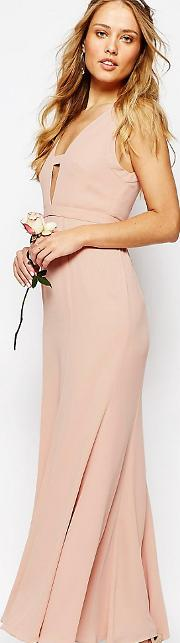 Everland Maxi Dress With Fishtail
