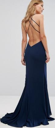 Strappy Gown With Fishtail