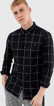 Burrow Window Pane Check Shirt