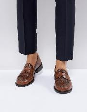 chalice woven penny loafers