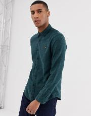 Kreo Brushed Cotton Slim Fit Shirt