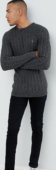 Ludwig Twisted Marl Cable Jumper