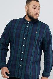 Slim Fit Check Shirt With