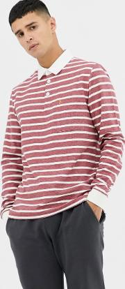 Temple Stripe Rugby Shirt