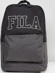 Fila Backpack With Large Embroidered Logo