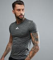 short sleeved training  shirt  dark grey