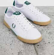 B722 Gum Sole Leather Trainers