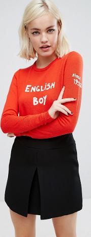 bella freud boy knit jumper