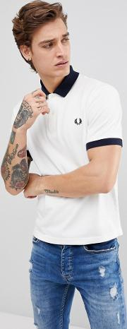 fred perry reissues polo contrast rib in